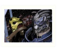 My Beautiful Boys Mass Effect Art Print