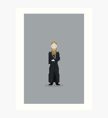 Mad Monk Art Print