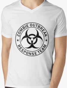 ZOMBIE RESPONSE TEAM  Mens V-Neck T-Shirt