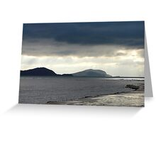 Blues - Hogs Head, Waterville, Southern Ireland Greeting Card