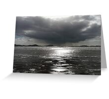 Waterville Bay - Silver Greeting Card