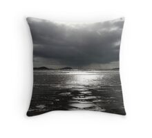 Waterville Bay - Silver Throw Pillow