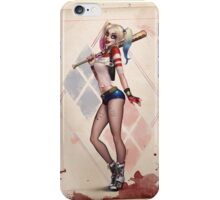 Quinn of Diamonds iPhone Case/Skin