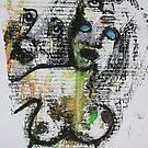 Faces, Bernard Lacoque-81 by ArtLacoque