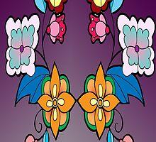 floral design #2 by mylittlenative