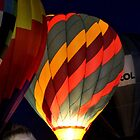 Hot Air Balloon Glow I by Kathleen Daley