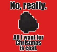 Minecraft - Christmas Coal One Piece - Short Sleeve