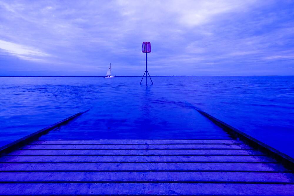LYTHAM JETTY BLUE by Phil  WEBB