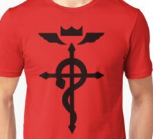 Full Metal Alchemist Brotherhood FMA Logo Edward Elric Anime Cosplay T Shirt Unisex T-Shirt