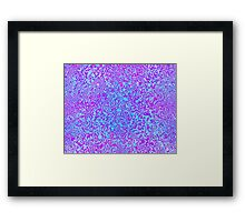 Electric Ice Framed Print
