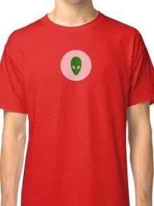 Alien Face T-Shirt - I Love Aliens Phone Cover Classic T-Shirt