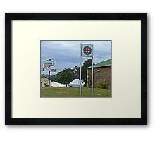 Nanango Ambulance Station Framed Print