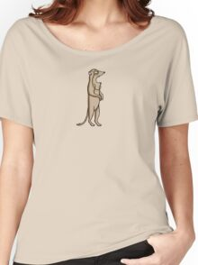Meerkat With A Monocle Women's Relaxed Fit T-Shirt