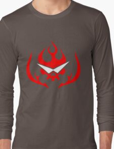Gurren Lagann Logo Anime Japan Otaku Cosplay T Shirt  Long Sleeve T-Shirt