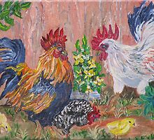 Rooster Ranch by Mikki Alhart