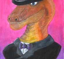 Reginald Gecko ~ Gentleman Theif by Majikcorpse