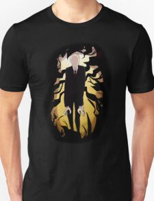 Creepypasta Slenderman Design T-Shirt