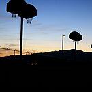 Basketball at Sundown by illPlanet