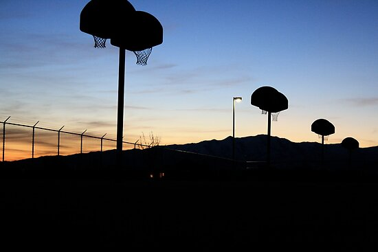 Basketball at Sundown by illPlanet
