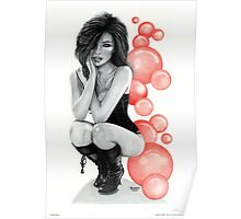 """Bubble Boots"" Poster"
