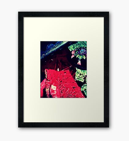 What a Mess Framed Print