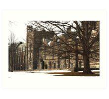 Old Graduate College Art Print