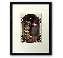 Over the Garden Wall Framed Print
