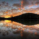 Sunset Spatter by Bob Larson