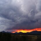 Stormy Sunset by Annlynn Ward