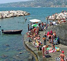 Summertime in Napoli, Italy by Tamara  Kaylor