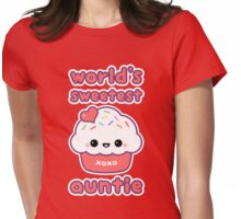 World's Sweetest Auntie Womens Fitted T-Shirt