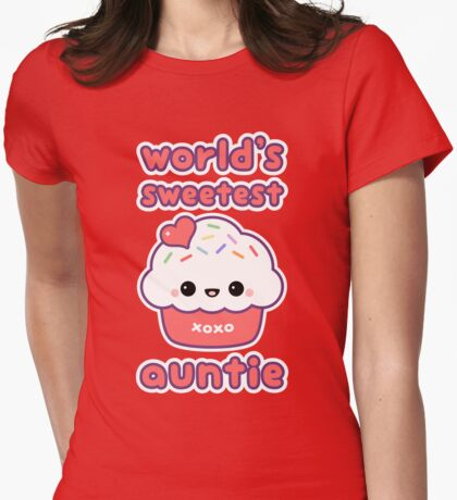 World's Sweetest Auntie T-Shirt