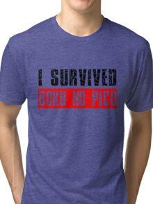 I survived Boku No Pico Anime Cosplay Japan T Shirt  Tri-blend T-Shirt
