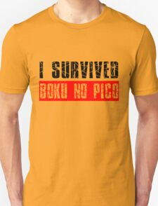 I survived Boku No Pico Anime Cosplay Japan T Shirt  Unisex T-Shirt