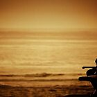 Watching sunrise at Cronulla by Kutay Photography