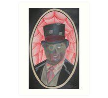 Zombie Gentleman Art Print