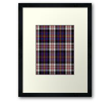 00565 Cameron of Erracht Dress Clan/Family Tartan  Framed Print