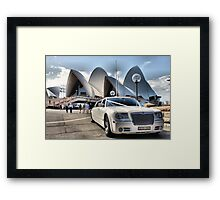 To the Opera Framed Print