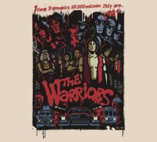The Warriors Poster by CDSmiles