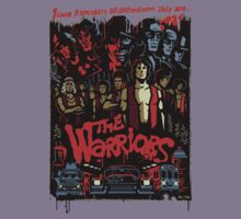 The Warriors Poster Kids Clothes