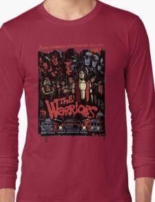 The Warriors Poster Long Sleeve T-Shirt