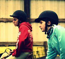 Riding Lesson by Hannah Cutler