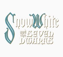 Film Titles - Snow White and the Seven Dwarfs Kids Clothes