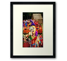 Arizona birther on Hawaiian vacation Framed Print