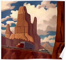 Red Rock Country Poster