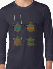 Undefined Age Martial Artist Tortoises T-Shirt