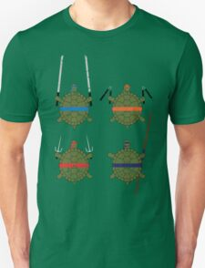 Undefined Age Martial Artist Tortoises T-Shirt