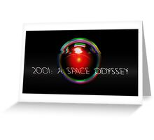 2001: A Space Odyssey Greeting Card