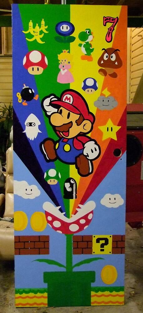 Mario's Door by TLouise92