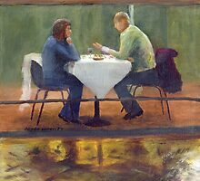 Rainy Date by Peter Worsley